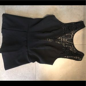 Fun lace blouse from Dynamite